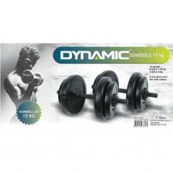 Dynamic - Dynamıc Vinly Dumbell Set 15 kg