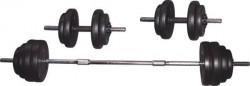 Voit - Voit 50 kg Vinly Kaplı Barbell Set