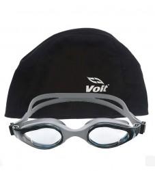 Voit - Voit Mix Yüzücü Gözlüğü_Gri+Voit Bone Siyah