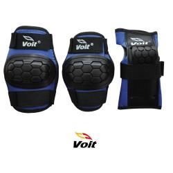 Voit - Voit PR122 Koruyucu Set Siyah Mavi (Small)
