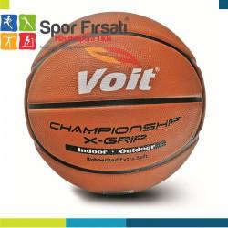 Voit - Voit XGrip Basketbol Topu N:5 Kahve