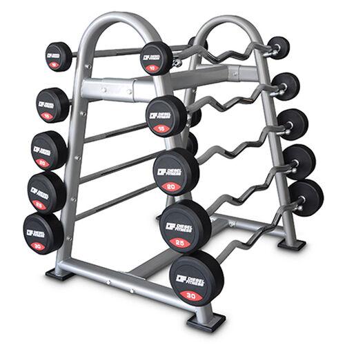Diesel Fitness - Diesel Barbell Set (Sabit Bar Seti)-1DIASBARBELSET