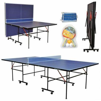 Dynamic - Dynamic Sport Katlanabilir Masa Tenisi Masası - Ağ & Demir Set Hediyeli