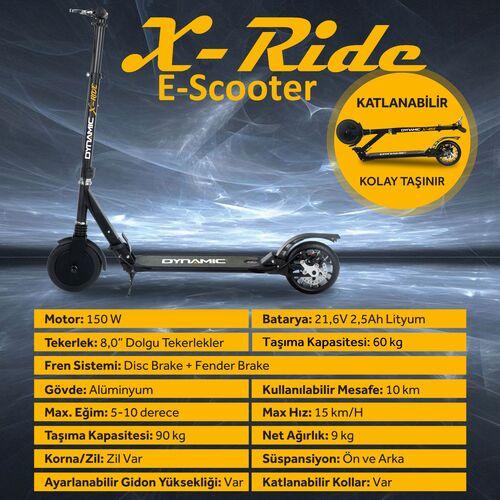 Dynamic - Dynamic X-Ride Elektrikli Scooter