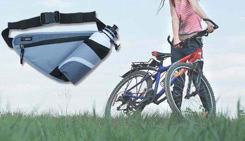 Pozitif - E Bike Suluk ve Eşya Taşıyan Çok fonksiyonlu Çanta -Gri