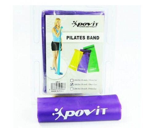 Povit - Povit Pilates Bandı (150 x 15 x 0,45mm)-MOR - LKS 08