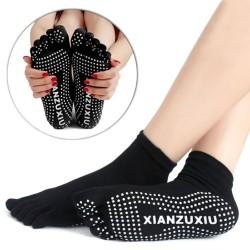 Pozitif - Pozitif Yoga Çorabı Siyah