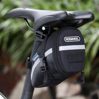 Roswheel - Roswheel Bisiklet Sele Altı Çanta Su Gecirmez