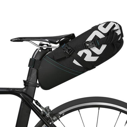 Roswheel - ROSWHEEL Suya Dayanıklı 8L Bisiklet Kuyruk Çantası - Siyah -131414