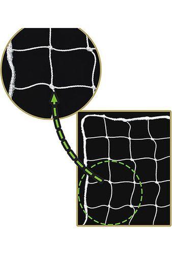 Voit - Voit 2 mm Futbol Kale Ağı Beyaz