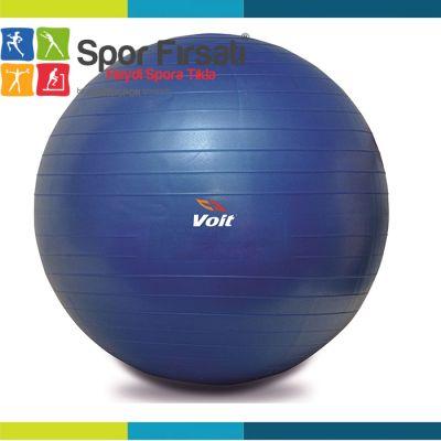 Voit - Voit 65 Cm. Pilates Topu Mavi + Pompa Hediyeli