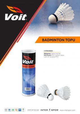 Voit - Voit Badminton Topu 6'LI - 1VTAKIZBAD