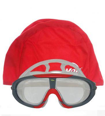 Voit - Voit Storm Yüzücü Gözlüğü SYH KRM +Voit Bone Kırmızı